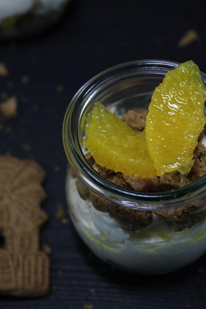 Spekulatius-Orangen-Dessert