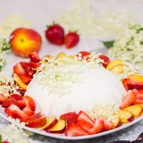 Joghurt-Holunderblueten-Kuppel