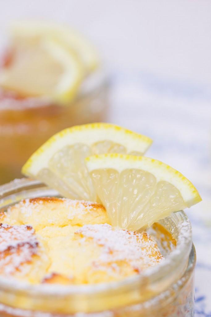 Zitronen-Quark-Souffle