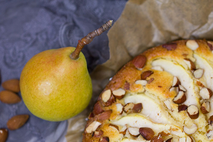 Birnenkuchen-mit-Schokososse