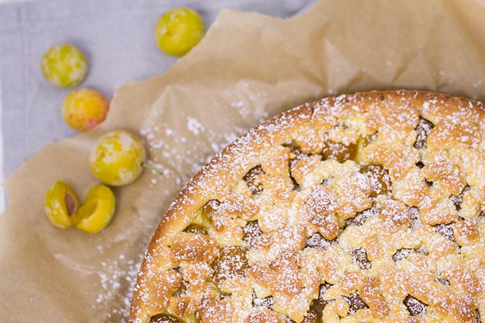Mirabellen-Vanille-Streuselkuchen