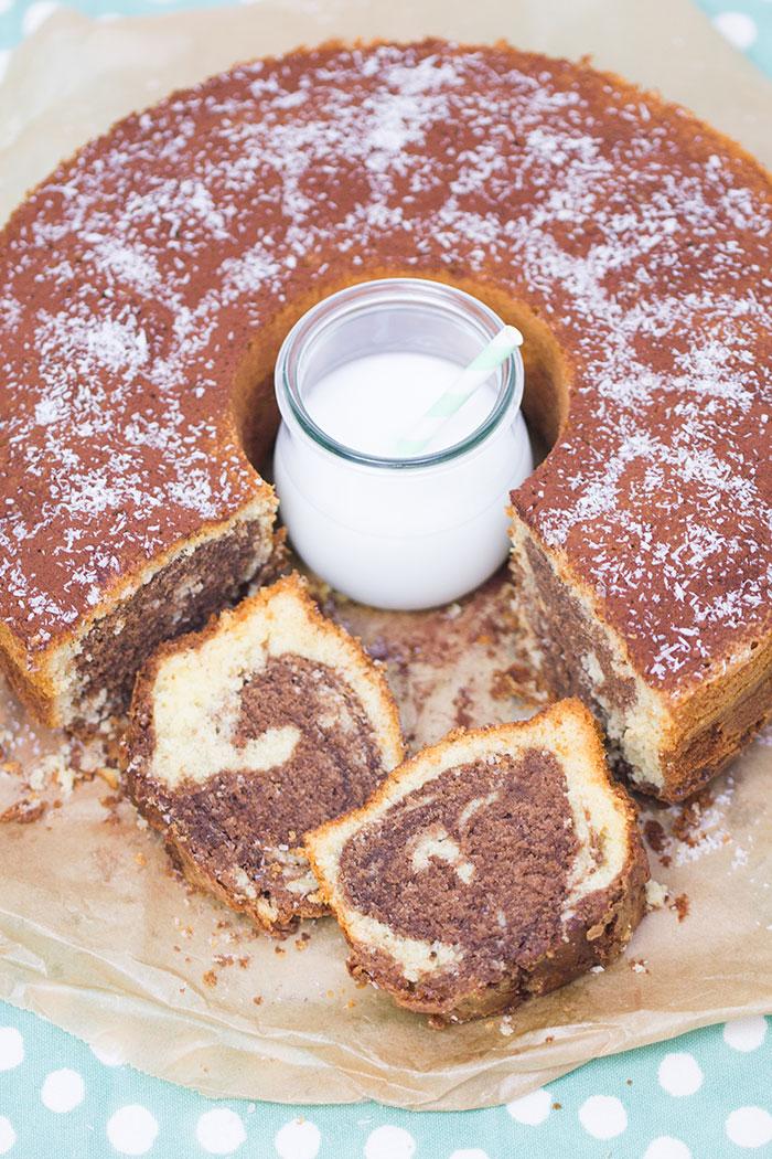 Kokos Nutella Marmorkuchen Rezept Verzuckert Blog De