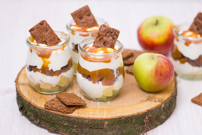 Apfel Karamell Dessert Rezept Verzuckert Blog De