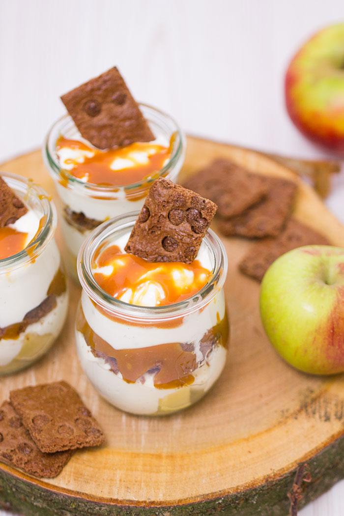 Apfel Karamell Dessert Rezept Verzuckert Blogde