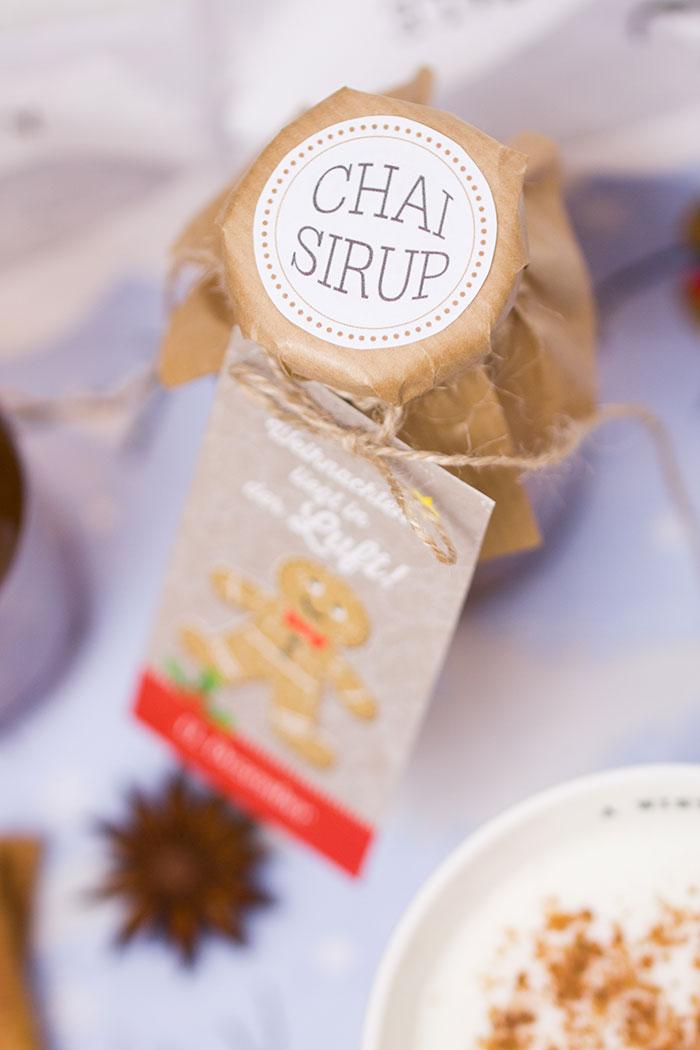 Chai-Sirup