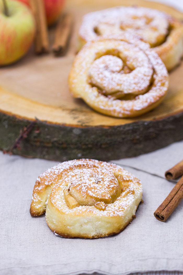 Apfel Zimtschnecken Rezept Verzuckert Blog De