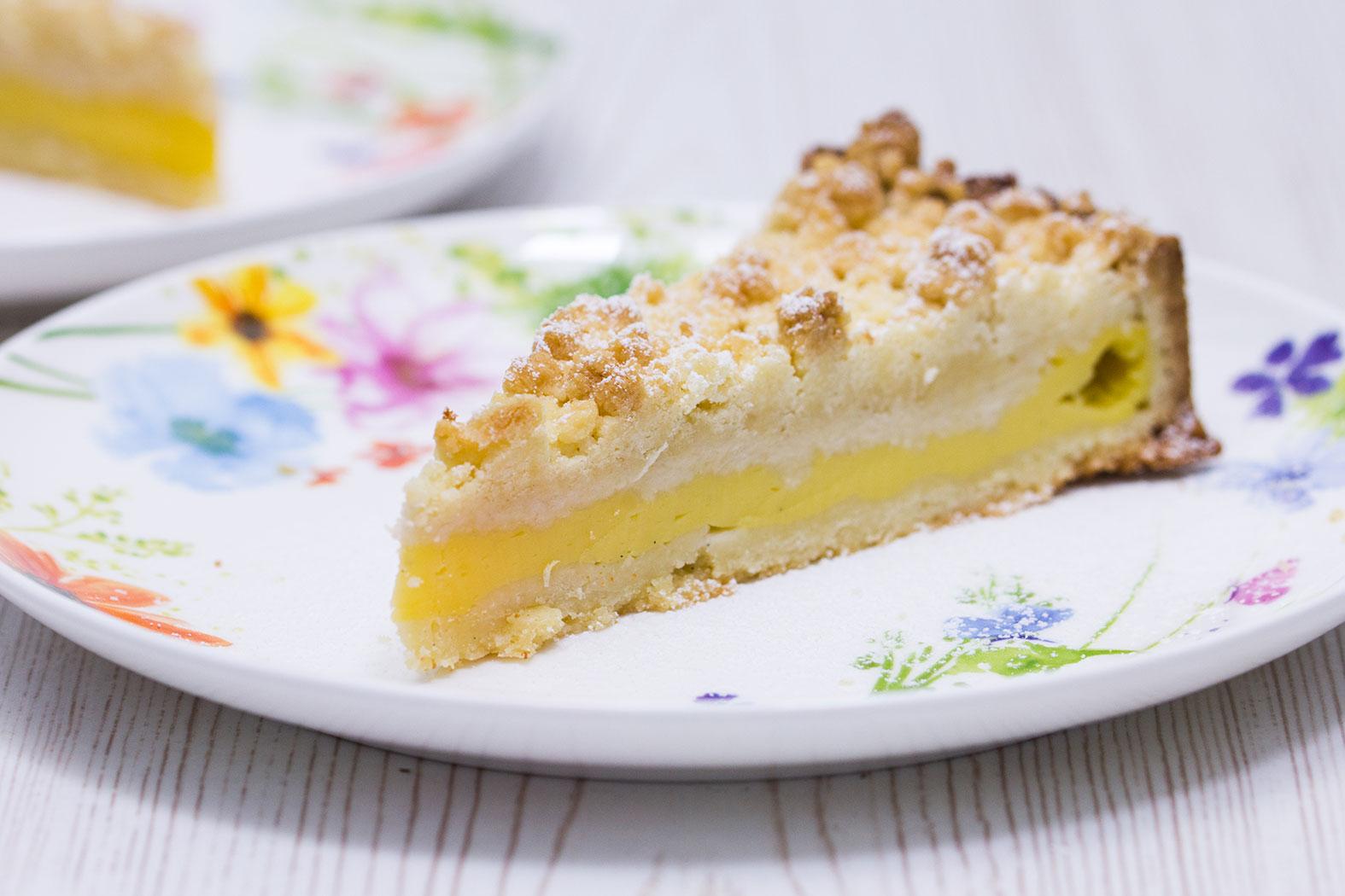 Vanillepudding Streuselkuchen Rezept Verzuckert Blog De