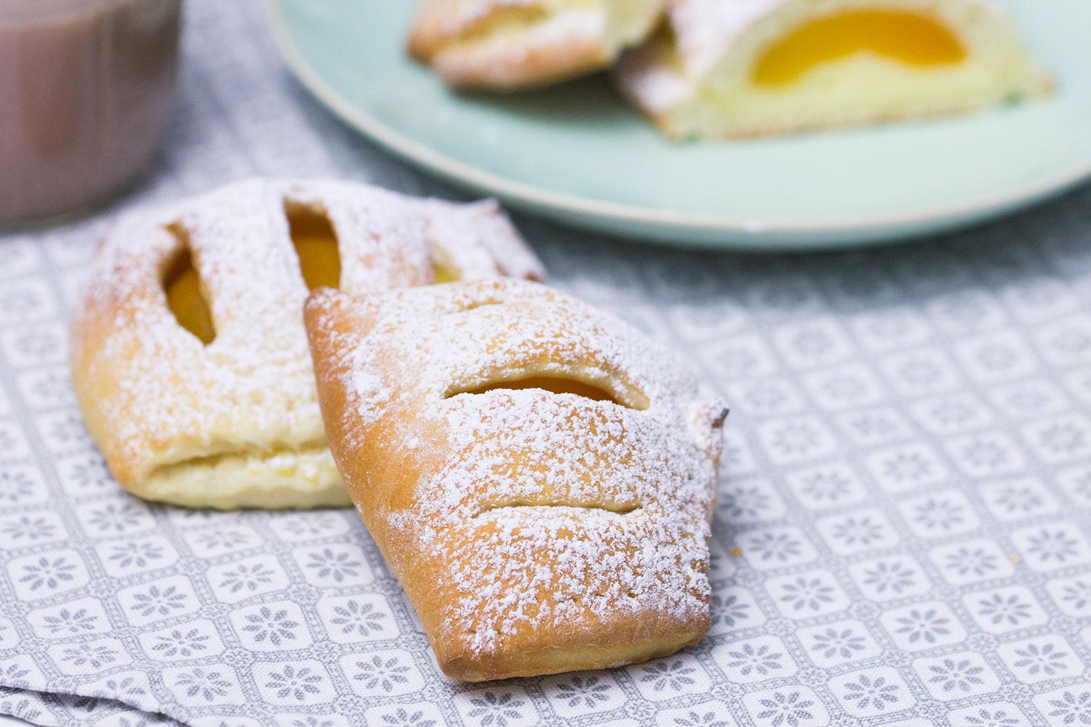 Aprikosen Vanillepudding Taschen Rezept Verzuckert Blogde